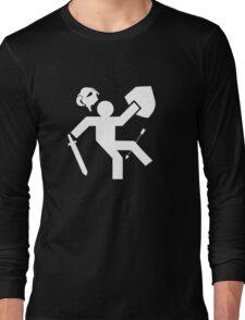Arrow To The Knee Skyrim Long Sleeve T-Shirt