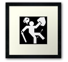 Arrow To The Knee Skyrim Framed Print