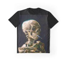 Head of a Skeleton with Lit Cigarette - Vincent van Gogh Graphic T-Shirt