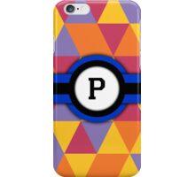 Monogram P iPhone Case/Skin