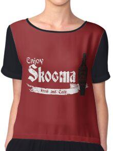 Enjoy Skooma: The Elder Scrolls Chiffon Top