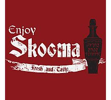 Enjoy Skooma: The Elder Scrolls Photographic Print