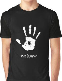 Dark Brotherhood - We Know Graphic T-Shirt