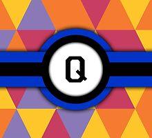 Monogram Q by Bethany-Bailey