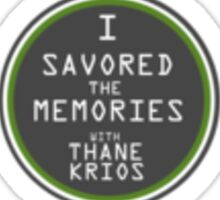 Savor the Memories Sticker