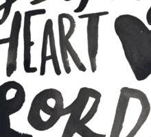 Open the Eyes of My Heart Lord II Sticker