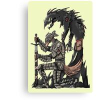 Anteater Knight Canvas Print