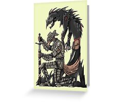 Anteater Knight Greeting Card