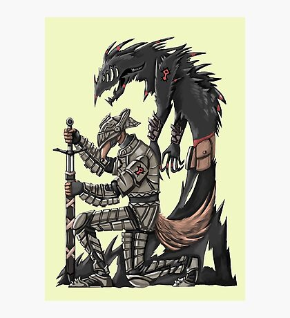 Anteater Knight Photographic Print