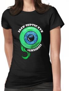 Jack Like A Boss Big Eye Womens Fitted T-Shirt