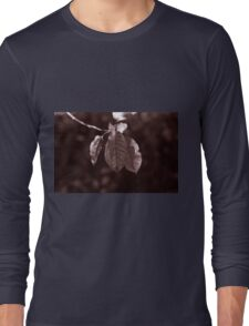 The Hanging Leaves Long Sleeve T-Shirt