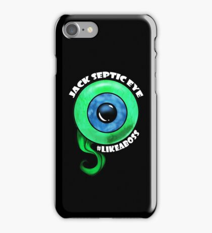 Jack Like A Boss Big Eye iPhone Case/Skin