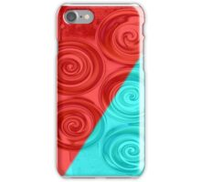 Floating Circles - II iPhone Case/Skin