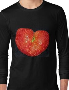Strawberry of Heart Long Sleeve T-Shirt