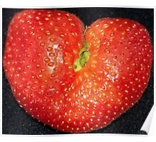 Strawberry of Heart Poster