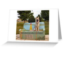 Queen of the Park Greeting Card