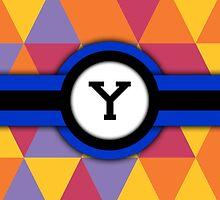 Monogram Y by Bethany-Bailey
