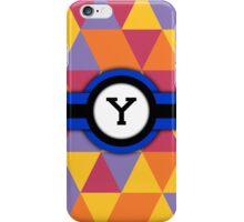 Monogram Y iPhone Case/Skin