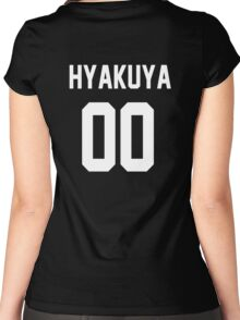 Seraph of the End - Jersey (Hyakuya)  Women's Fitted Scoop T-Shirt