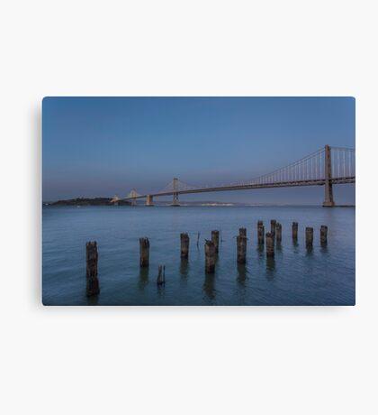 Bay Bridge - San Francisco  Canvas Print