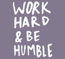 Work Hard and Be Humble II Kids Tee