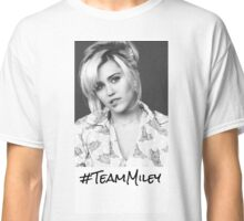 """Team Miley"" Miley Cyrus On The Voice Classic T-Shirt"