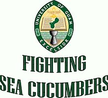 University of Guam Fighting Sea Cucumbers by CasualBizness