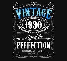 Vintage 1930 aged to perfection 86th birthday gift for men 1930 birthday Unisex T-Shirt