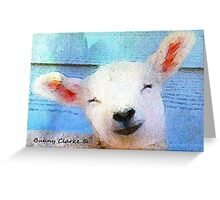 Mostly White: Sweet as a Lamb Greeting Card