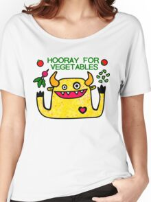 Hooray for Vegetables Women's Relaxed Fit T-Shirt