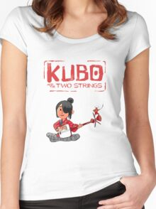 Kubo Movie Women's Fitted Scoop T-Shirt
