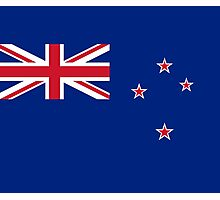 New Zealand Flag Duvet - Kiwi Bedspread Photographic Print