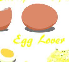 Egg lover Sticker