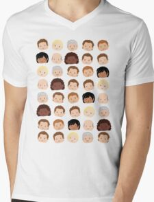 Uncharted Characters Mens V-Neck T-Shirt