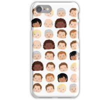 Uncharted Characters iPhone Case/Skin