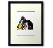 Bulma triple OG. (Front) Framed Print