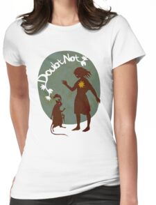 Doubt Not Womens Fitted T-Shirt