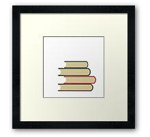 Books On Books Framed Print