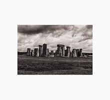 Stonehenge  in Toned Monochrome Unisex T-Shirt
