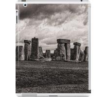 Stonehenge  in Toned Monochrome iPad Case/Skin