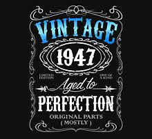 Vintage 1947 aged to perfection 69th birthday gift for men 1947 birthday Unisex T-Shirt
