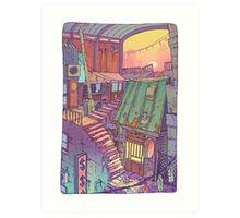 Pawn Town Art Print