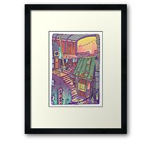 Pawn Town Framed Print