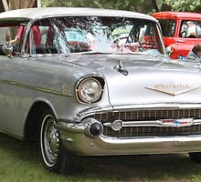 1957 Chevrolet Bel Air 4 door........ by DonnaMoore