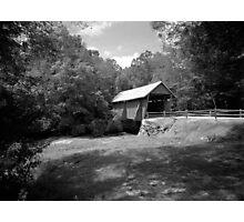 Covered Bridge in the Carolinas Photographic Print