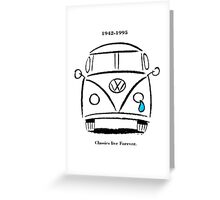 Classics Live Forever Greeting Card