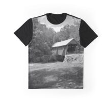 Covered Bridge in the Carolinas Graphic T-Shirt