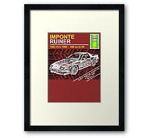 Imponte Ruiner - GTA 5 car Framed Print
