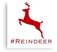 #Reindeer Canvas Print