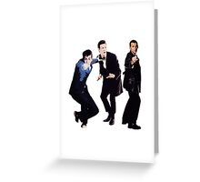 Time lords Greeting Card
